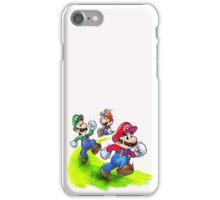 Mario and Luigi Brothers - Nintendo iPhone Case/Skin