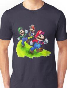 Mario and Luigi Brothers - Nintendo Unisex T-Shirt