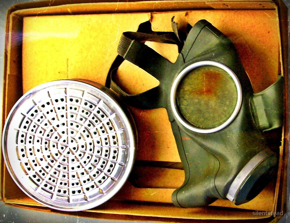 Gas Mask from The Second World War by silentstead
