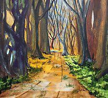 Cottonwood Landing by Jack G Brauer