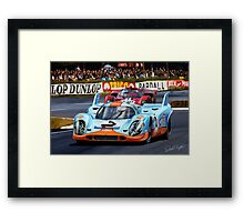 Porsche 917 at Le Mans Framed Print