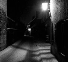 Winter Gaslight, Cambridge, 1963 by NevilleNewman