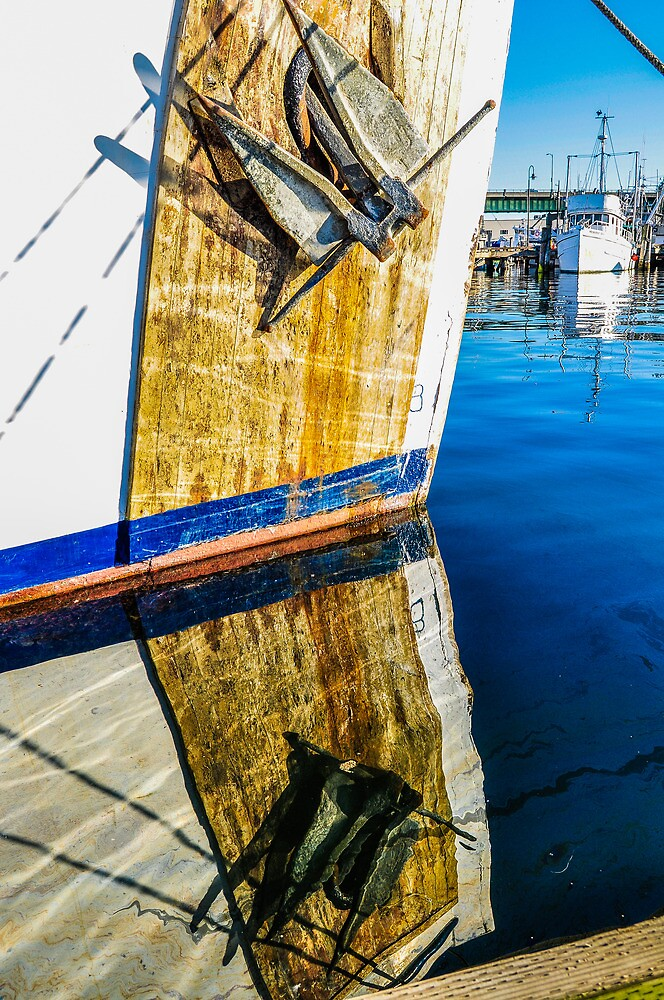 Anchored Reflection by m E Grayson