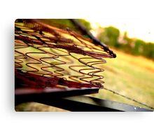 Rusted Mattress  Canvas Print