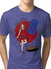 Dalek Souffle Girl Tri-blend T-Shirt