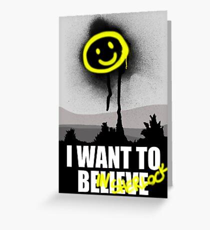 I want to believe in SHERLOCK Greeting Card