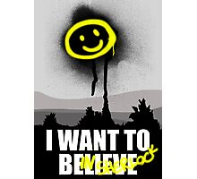 I want to believe in SHERLOCK Photographic Print