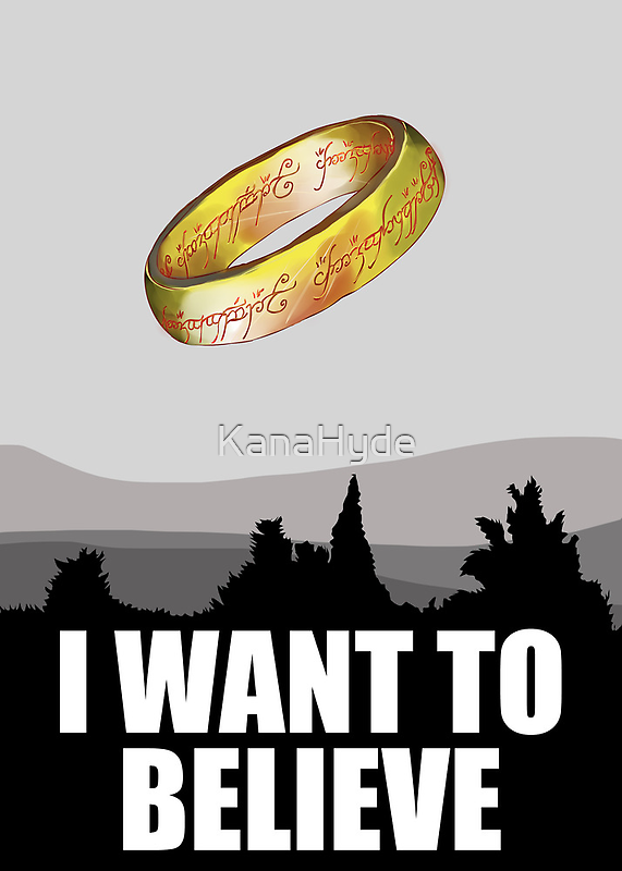 I want to believe in MORDOR by KanaHyde