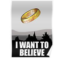 I want to believe in MORDOR Poster