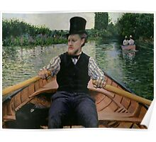 Rower in a Top Hat, c.1877-78 Poster
