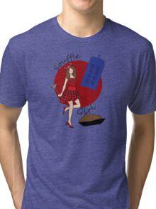 Dalek Souffle Girl 2 Tri-blend T-Shirt