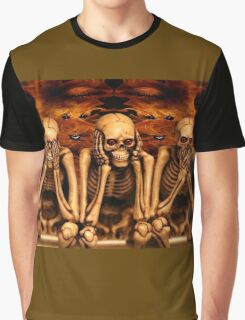 see no evil, hear no evil... Graphic T-Shirt