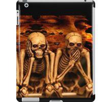 see no evil, hear no evil... iPad Case/Skin