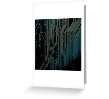 Cyber Circuits Greeting Card