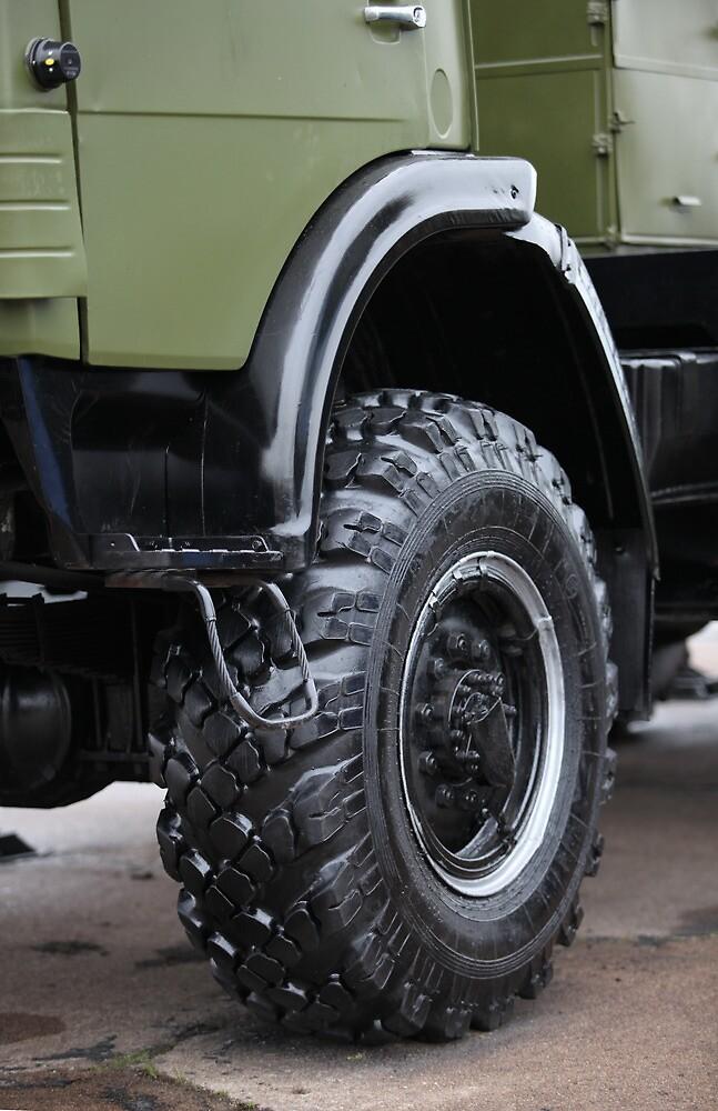 army truck wheel by mrivserg