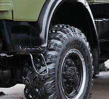 army truck wheel by mrivserg
