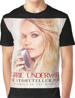 CARRIE UNDERWOOD TOUR 2016 STORYTELLER Graphic T-Shirt