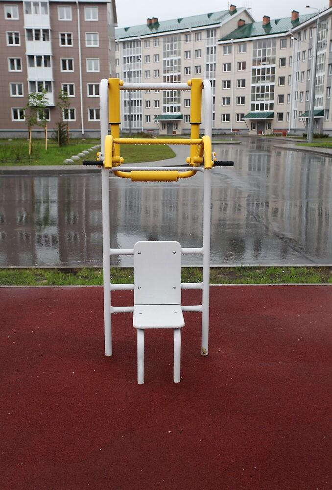 athletic training device by mrivserg