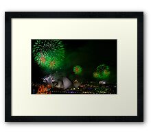 Sydney New Year #8 Framed Print