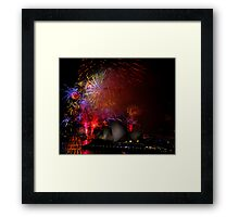 Sydney New Year #10 Framed Print
