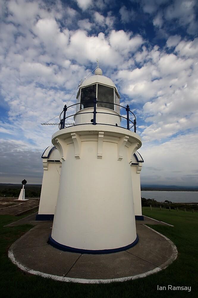 Crowdy Head NSW lighthouse. by Ian Ramsay