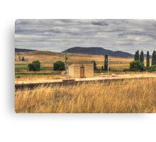 Chakola Railway Station Rural NSW Canvas Print