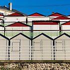Beach cabins by Harald Walker