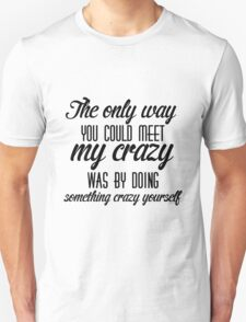 Silver Linings Playbook quote T-Shirt