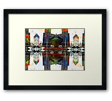 manchester central extra Framed Print