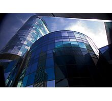 curved glass Photographic Print
