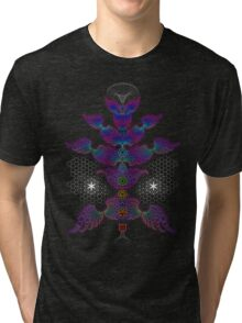 aWEARness Clothing (With coloured aura) Tri-blend T-Shirt