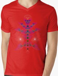 aWEARness Clothing (With coloured aura) Mens V-Neck T-Shirt