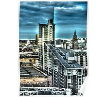 Manchester Buildings HDR Poster