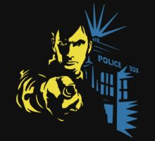 Dr. Who Police Box  by BUB THE ZOMBIE