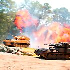 Tank battle by ccrcats