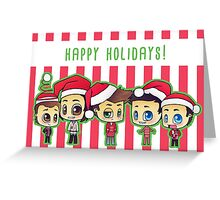 SPN: Happy Holidays! Greeting Card