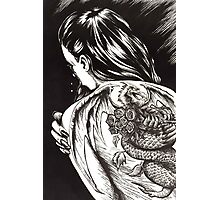 Dragon Lady Photographic Print