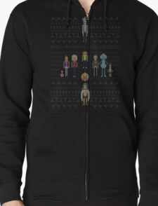 Rick and Morty Family Portrait DARK VERSION! T-Shirt