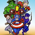 Avengers Assemble by Patrick Scullin