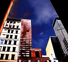 blue sky 5th avenue by thvisions