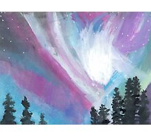 Color Dance Northern Lights  Photographic Print
