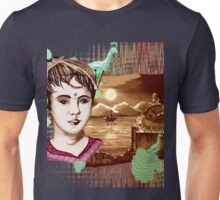 Rose Marry and moon light Unisex T-Shirt