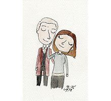 Doctor Who - Twelfth Doctor and Clara Oswald Photographic Print