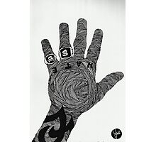The Hand of Hate Photographic Print