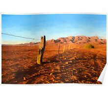 Outback Fence (GO2) Poster