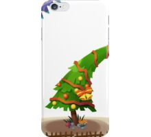 The Christmas Tree wishes You Merry Christmas iPhone Case/Skin