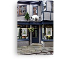 Smith England Hair Salon, Salisbury, Wiltshire, UK. Canvas Print