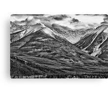 Banff, Alberta Rest Stop Canvas Print