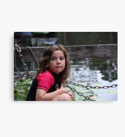 She's Down On The Jetty Canvas Print