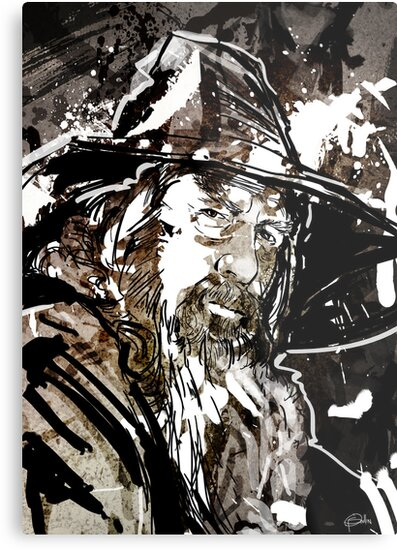 Gandalf by Patrick Scullin
